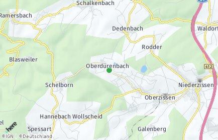 Stadtplan Oberdürenbach