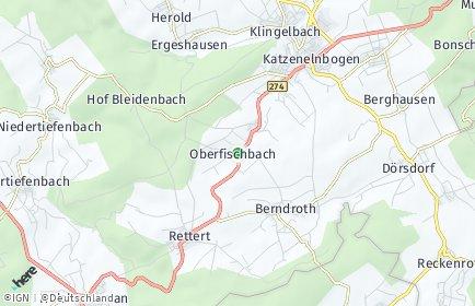 Stadtplan Oberfischbach