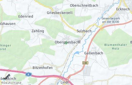 Stadtplan Obergriesbach
