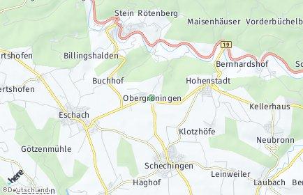 Stadtplan Obergröningen