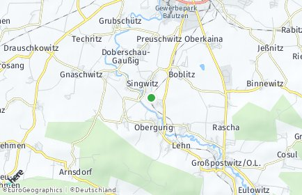 Stadtplan Obergurig