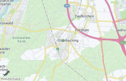 Stadtplan Oberhaching