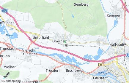 Stadtplan Oberhaid (Oberfranken) OT Sandhof