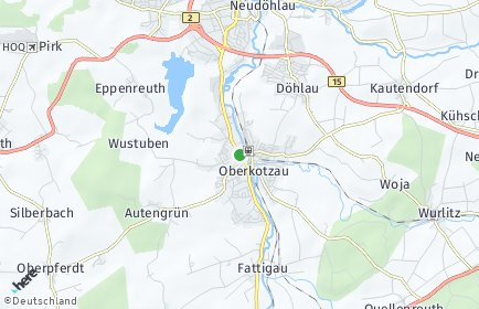 Stadtplan Oberkotzau