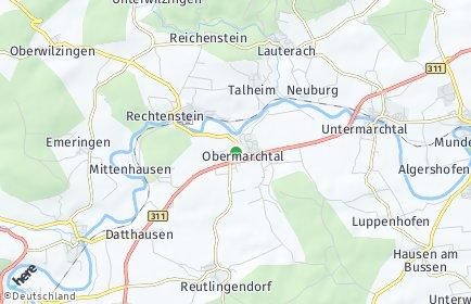 Stadtplan Obermarchtal