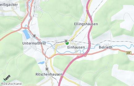 Stadtplan Obermaßfeld-Grimmenthal
