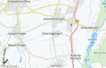 Stadtplan Obermeitingen