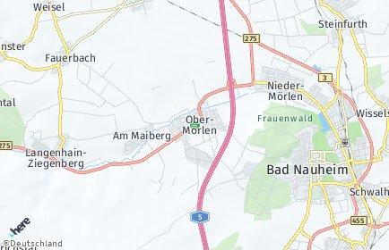 Stadtplan Ober-Mörlen