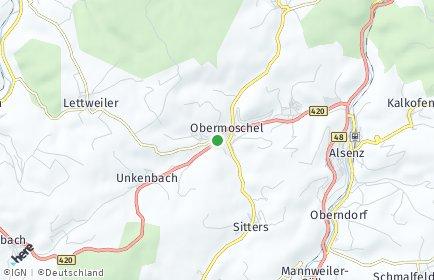Stadtplan Obermoschel