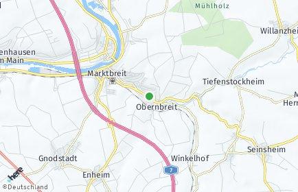 Stadtplan Obernbreit