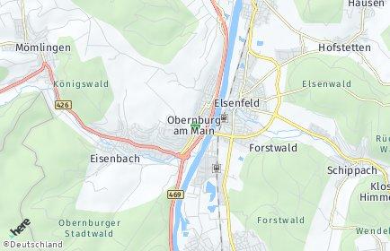 Stadtplan Obernburg am Main