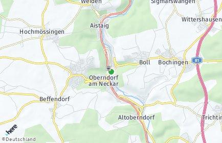 Stadtplan Oberndorf am Neckar