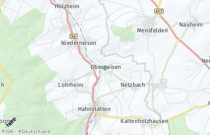 Stadtplan Oberneisen