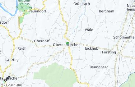 Stadtplan Oberneukirchen