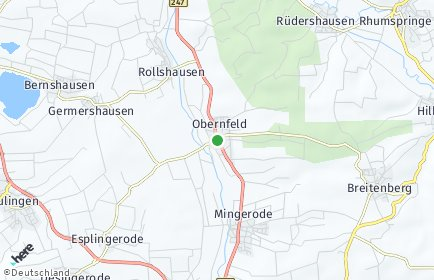 Stadtplan Obernfeld