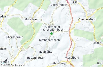 Stadtplan Obernheim-Kirchenarnbach