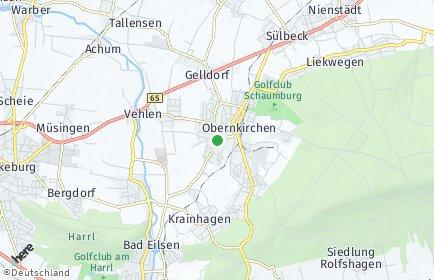 Stadtplan Obernkirchen