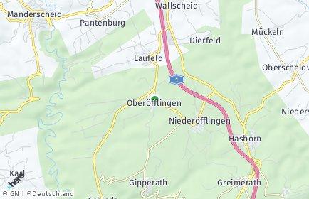 Stadtplan Oberöfflingen