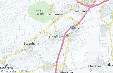 Stadtplan Ober-Olm