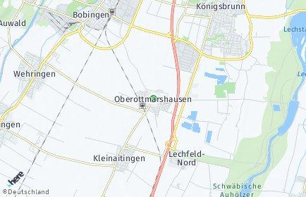 Stadtplan Oberottmarshausen