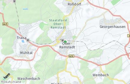 Stadtplan Ober-Ramstadt