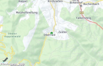 Stadtplan Oberried (Breisgau)