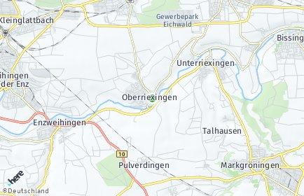 Stadtplan Oberriexingen