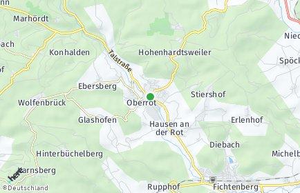 Stadtplan Oberrot