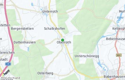 Stadtplan Oberroth