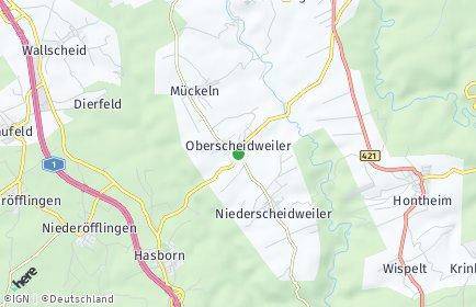 Stadtplan Oberscheidweiler