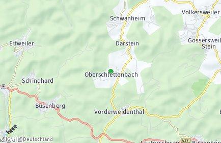 Stadtplan Oberschlettenbach