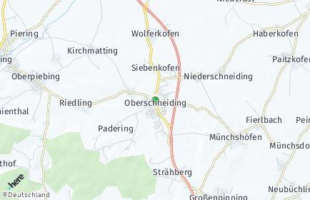 Stadtplan Oberschneiding