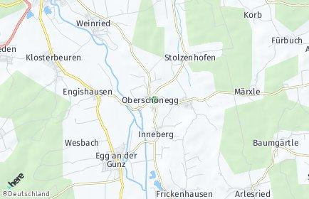 Stadtplan Oberschönegg