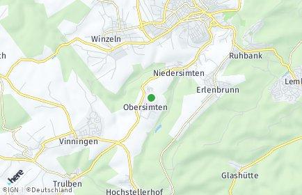 Stadtplan Obersimten