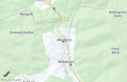 Stadtplan Obersinn