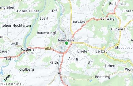 Stadtplan Miesbach