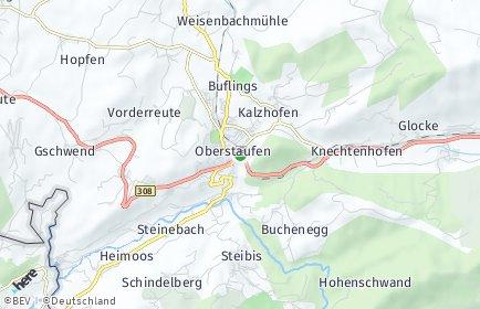 Stadtplan Oberstaufen