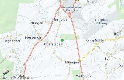 Stadtplan Oberstedem