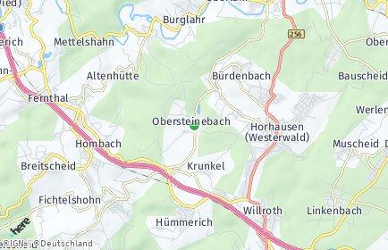 Stadtplan Obersteinebach