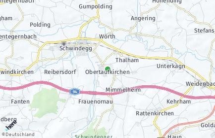 Stadtplan Obertaufkirchen