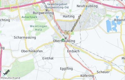 Stadtplan Obertraubling