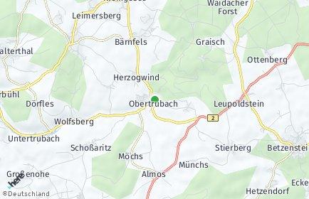 Stadtplan Obertrubach