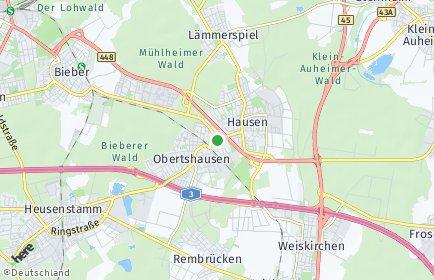 Stadtplan Obertshausen