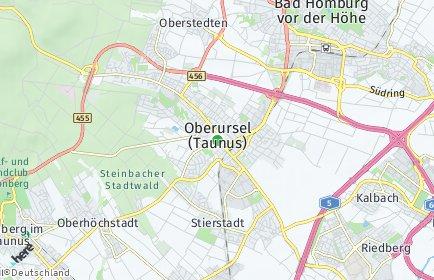 Stadtplan Oberursel (Taunus)