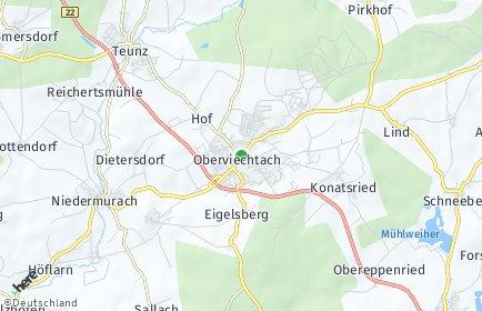 Stadtplan Oberviechtach