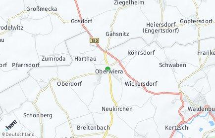 Stadtplan Oberwiera