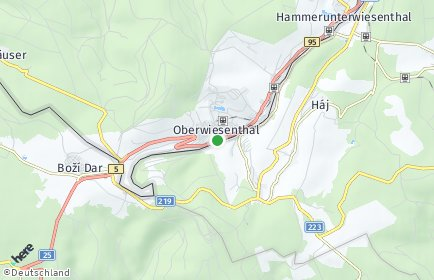 Stadtplan Oberwiesenthal