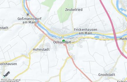 Stadtplan Ochsenfurt