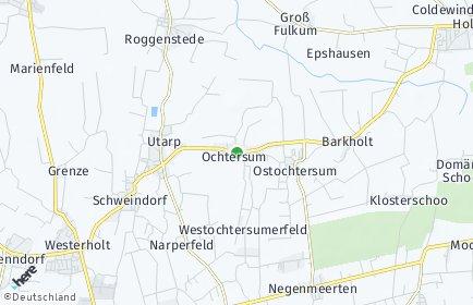 Stadtplan Ochtersum