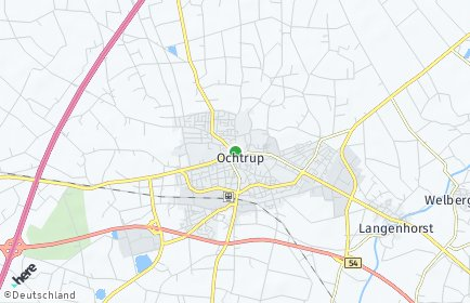 Stadtplan Ochtrup